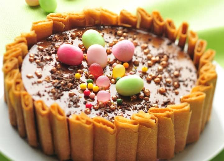 Charlotte au chocolat et crêpes dentelles et cidre Poire Envies de...