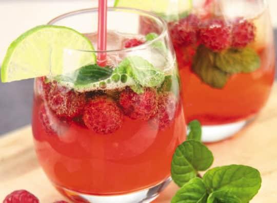 Cocktail rosé, l'apéritif breton à la framboise et cidre rosé Envies de...