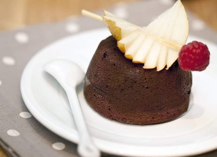 Fondant chocolat à la poire et cidre Poire Envies de...