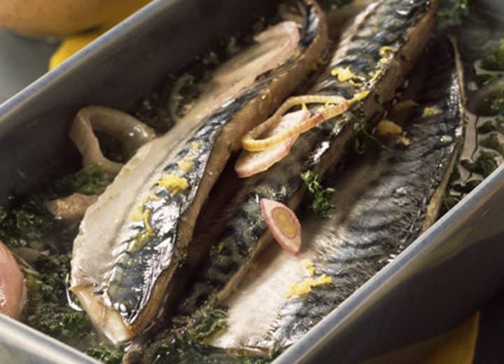 Maquereaux marinés au cidre bio de Bretagne