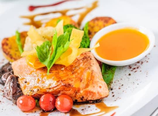 Saumon au cidre bio de Bretagne